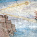 Giulio-Parigi.-Arquimedes-e-o-raio-da-morte.-1600-afresco-na-Galeria-Uffizi-Florença.-1