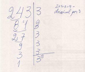 Fatoração de 243