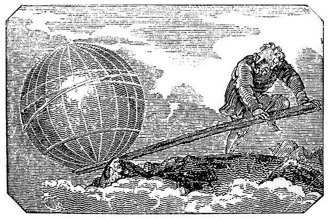 Alavanca de Arquimedes.