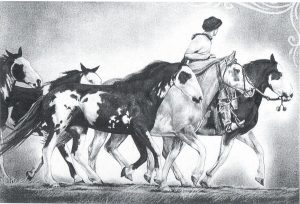 Desenho de cavalo 3 001