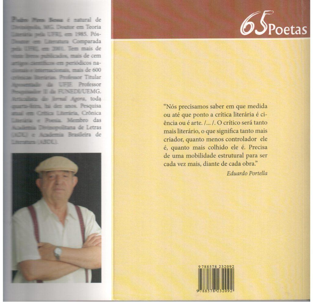 Sessenta e cinco poetas, capa e orelha 2 001