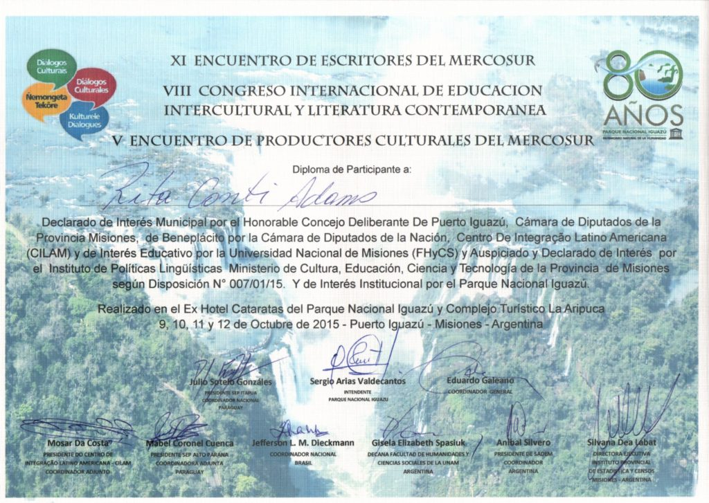 Certificado de Participante Rita 20151021_20420845