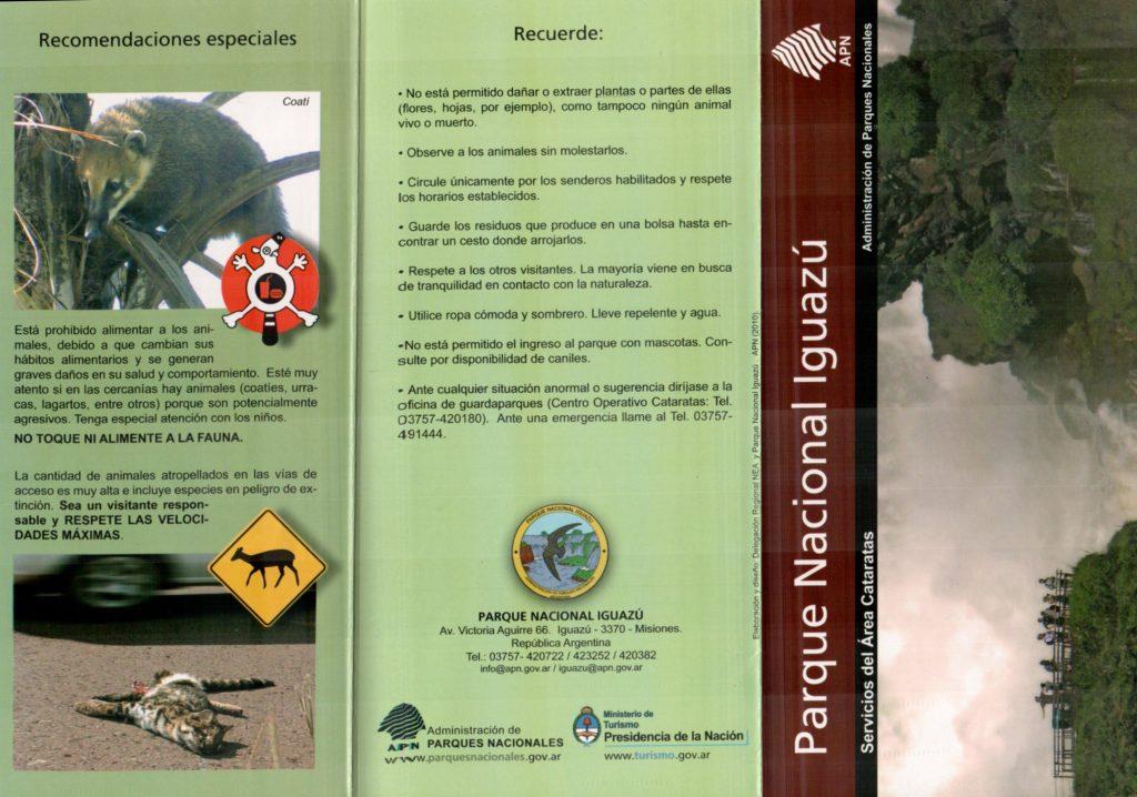 Prospecto de divulgação do Parque Nacional de Iguazu 21_21015292