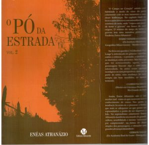 O pó da estrada, de Enéas Athanázio, capa. 001
