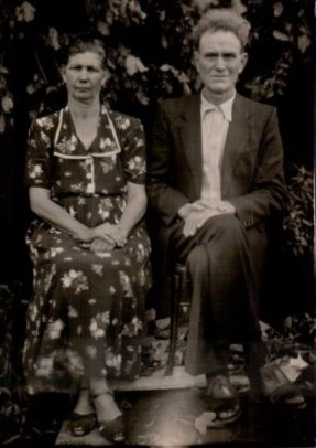 Avô Mathias e avó Bertha Dewes