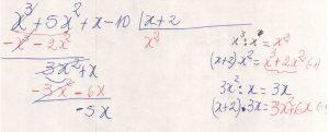 Divisão de polinômios 1.2