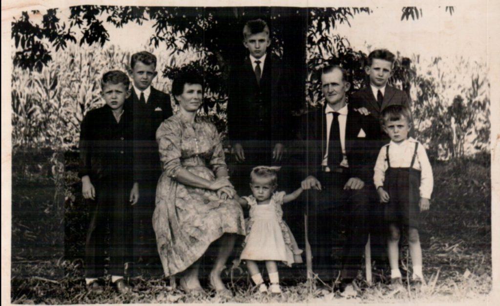Família por volta de 1960/61