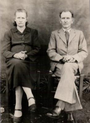 Vovô e vovó Adams