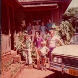 Veraneio, primeiro carro da família