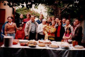 Festa dos 80 anos, junto com família.