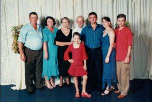 Foto em família.