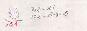 Multiplicação com fatores de vários algarismos 2