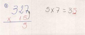 Multiplicação com fatores de vários algarismos 7.1