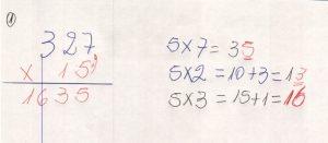 Multiplicação com fatores de vários algarismos 7.3