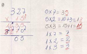 Multiplicação com fatores de vários algarismos 7.6