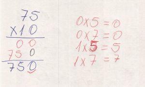 Multiplicação por múltiplos de 10.1