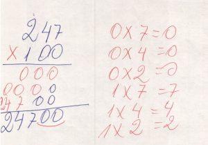 Multiplicação por múltiplos de 10.2