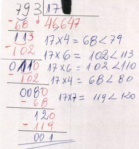 Divisão aproximada decimal 4