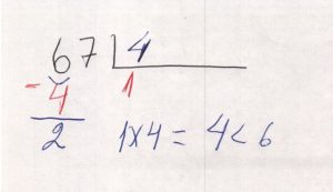 Divisão decimal 1