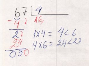 Divisão decimal 2