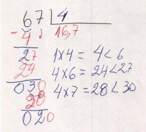 Divisão decimal 3