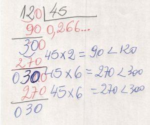 Divisão decimal periódica 4