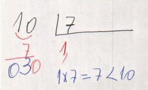 Divisão decimal periódica simples 1
