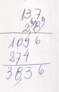 Multiplicação de números decimais 1