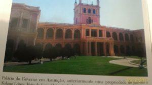 Palacio governamental em Assunção.