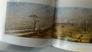 Pintura de batalha terestre