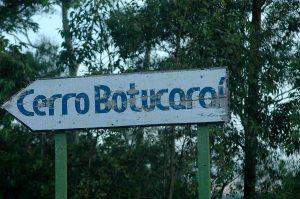 Placa do Botucaraí