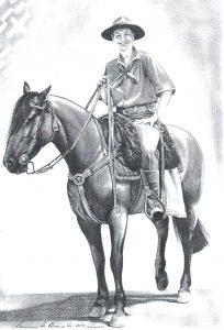Desenho de cavalo 9 001