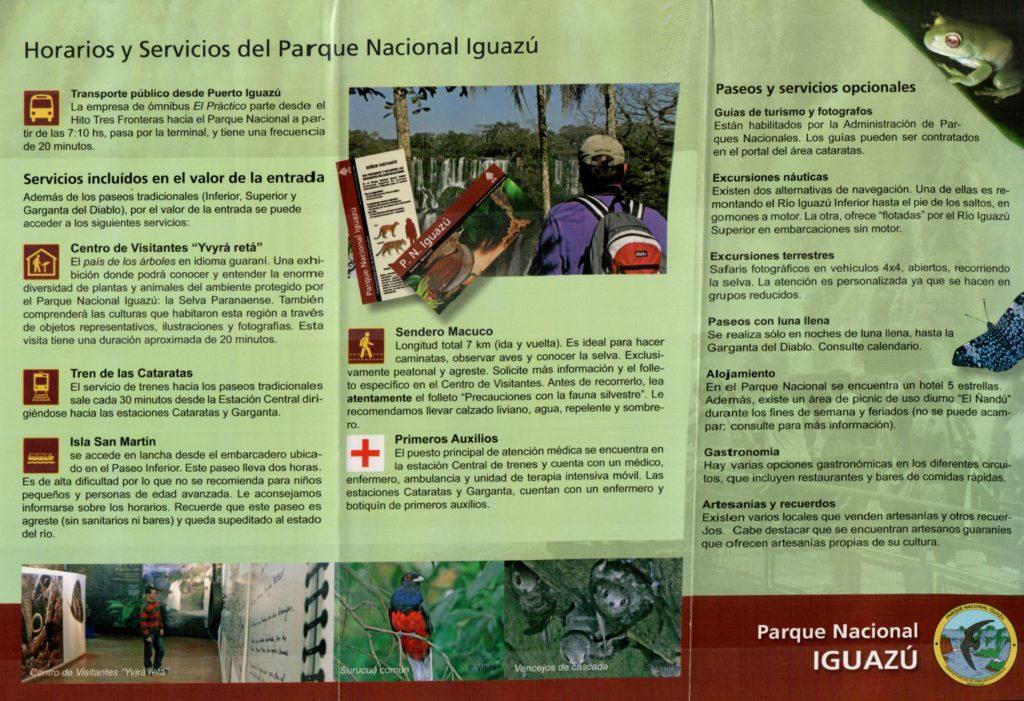Prospecto de divulgação do Parque Nacional de Iguazu 20151021_21021806