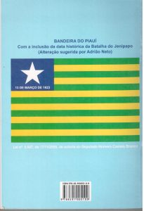Geografia e História do Piauí para estudantes, de Adrião Neto, contracapa 001
