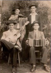 Tios Ottmar, Raimundo, João Ignácio e Leo Anselmo