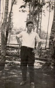 Genésio Evaldo, aos 17 anos.