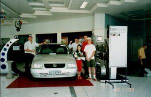 Leo Anselmo comprando carro novo.