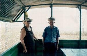 Leo Anselmo e Maria em passeio pelo nordeste.