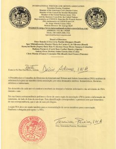 carta da presidente de IWA